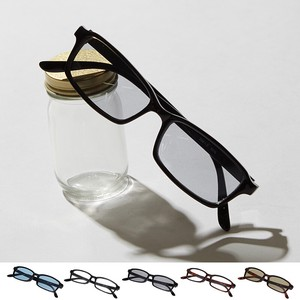[2019NewItem] Square Sunglass Eyeglass Men's Ladies Color Lens Eyeglass Date