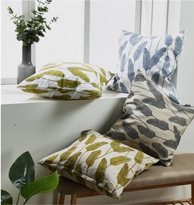 Cushion Cover Garden Leaf Cushion Cover