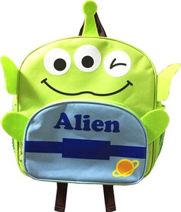 Disney Character Die Cut Backpack Alien
