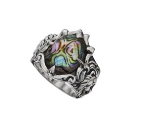 Lion Avalon Silver Ring