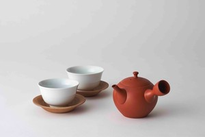 Japanese Tea Pot Swallowing 2Pcs set Circle Shape