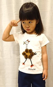 Print Bonbon Embroidery Attached T-shirt Kids Toddler Girl