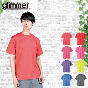 New Color Plain Thin Short Sleeve Dry Mesh T-shirt Men's