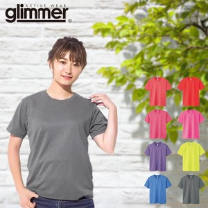 New Color Plain Thin Short Sleeve Dry Mesh T-shirt Ladies