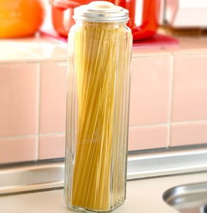 Pasta Save 1 Pc Glass Save Pot Stocker Pasta pen