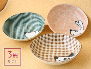 Happy Animal Rabbit Panda Bear Animal Animal Kids Plates & Utensil