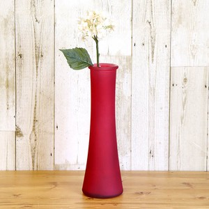 Spain Glass Flower Vase Red 1 Pc Flower Vase Living Glass Spain Entrance Flower Vase