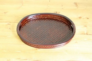 Fancy Goods Oval Tray Fancy Goods Tray Oval Tray Tool Gift Present