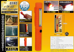 Disaster Prevention type LED pen Light