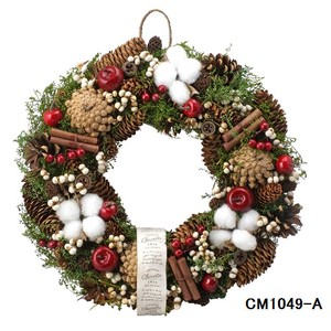 クリスマスリース (Natural wreath) BOTANICAL  No.5 クリスマス Christmas X-mas