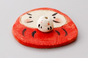 Red And White Daruma Incense