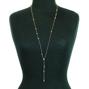 Charm Type Long Necklace