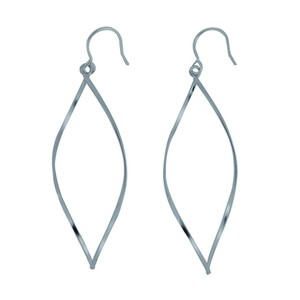 Silver 925 Type Swing Pierced Earring