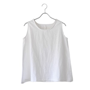 Linen Sleeveless Blouse