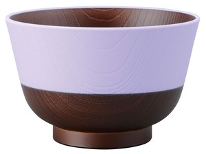 Japan Soup Bowl Wisteria Viole Japanese Plates & Utensil