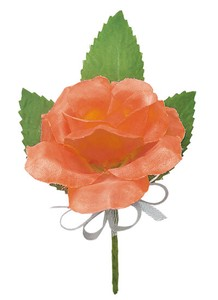 Corsage Party Graduate Admission Each Type rose Orange