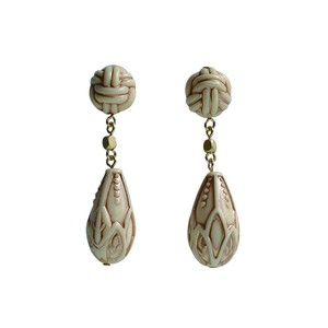 Antique Beads Pierced Earring