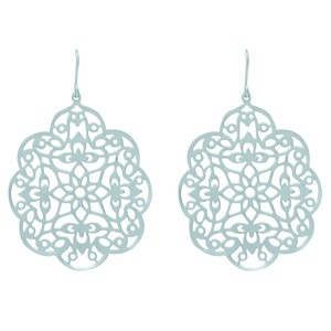 Watermark Pattern Pierced Earring