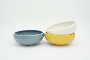 Easy Scoop Porcelain BOWL M [Bread & Rice / Mino Ware]
