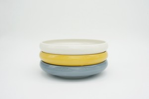 Easy Scoop Porcelain PLATE [Bread & Rice / Mino Ware]