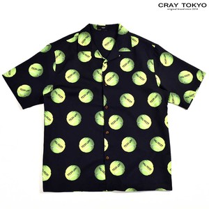 Multi Graphic Shirt Tennis Ball Black