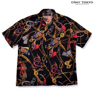 MULTI Multi Graphic Short Sleeve Shirt Black