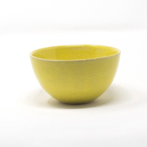 HARVEST harvest Bowl Yellow SHIGARAKI Ware Japanese Rice Bowl