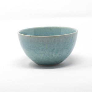 HARVEST harvest Bowl Blue SHIGARAKI Ware Japanese Rice Bowl