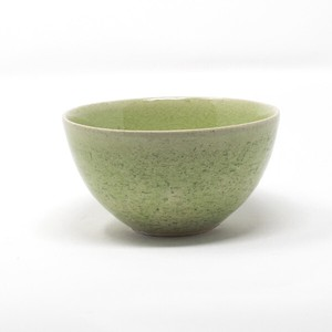 HARVEST harvest Bowl Green SHIGARAKI Ware Japanese Rice Bowl
