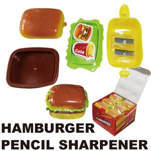 Hamburger Pencil Sharpener Stationery White Pencil Sharpener Pencil