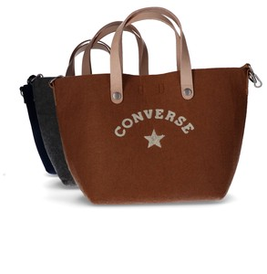 【CONVERSE/コンバース】FELT LEATHER MINI TOTE