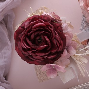 [2019NewItem] Arrangement Kit Corsage Kit Burgundy