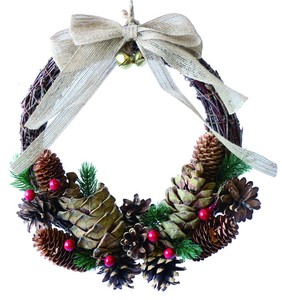 【2019Christmas】Twig Wreath- Pine & Berry