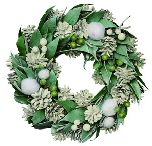 【2019Christmas】Wreath-Snow Fairy (Green) M