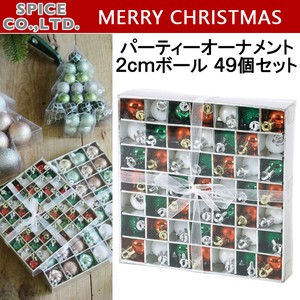 Christmas Party Ornament Ball 6 Pcs Set Red