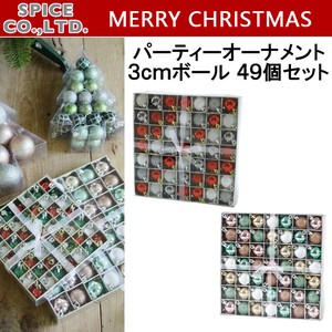 Christmas Party Ornament Ball 9 Pcs Set
