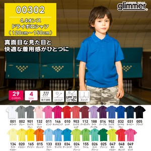 New Color Plain Short Sleeve Dry Polo Shirt Pocket None Kids