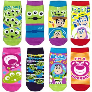 Toy Story Character Socks Pattern Set Disney Colorful Socks