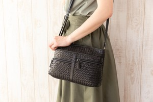 Mesh Bag Shoulder Bag Synthetic Leather