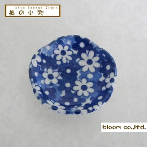 Flower Shape Chopstick Mini Dish Flower Flower Incense stand Plate box Mino Ware AP