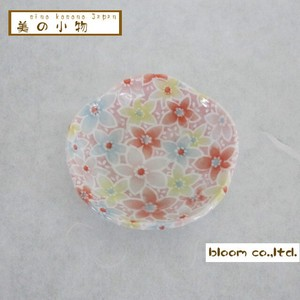 Flower Shape Chopstick Mini Dish Yuka Incense stand Plate box Mino Ware AP