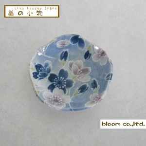 Flower Shape Chopstick Mini Dish Sakura Incense stand Plate box Mino Ware AP