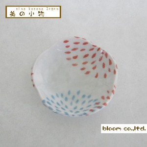 Flower Shape Chopstick Mini Dish Night Sky Incense stand Plate box Mino Ware AP