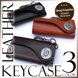 S/S Leather Key Case Genuine Leather Native Adult Casual American Unisex