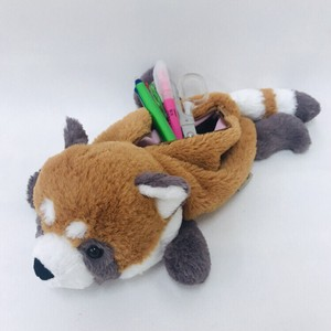 Wild Animal Pencil Case / Red Panda