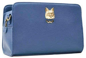 Cat Metal Fittings Blue Pocket Shoulder