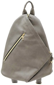 Triangle Backpack Synthetic Leather