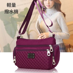 Bag Water-Repellent Light-Weight Shoulder Bag Pocket Trip Pattern Color