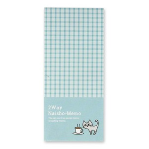 Cat 2Way Memo Pad