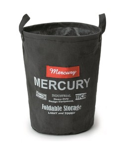 Mercury Canvas Bucket Black